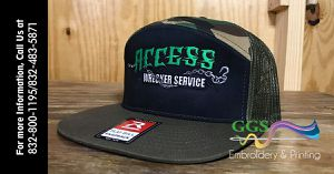 Cap w/ logo embroidery for Sale in Houston, TX