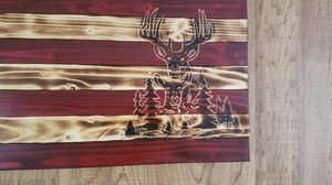 Rustic American flag others made at youre request for Sale in Dyke, VA