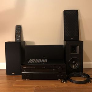 Yamaha Digital&Network Player / 3 Klipsch Speakers for Sale in Jersey City, NJ