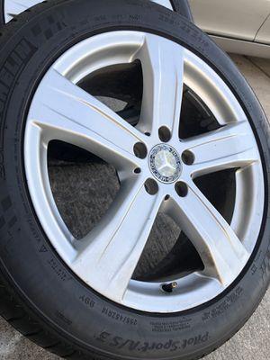 Rim & tires size 18 😎👌 Mercedes for Sale in San Antonio, TX