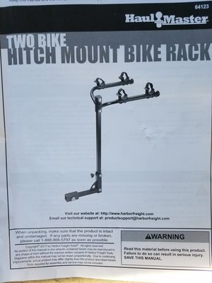 NEW , TWO BIKE RACK RECIVER for Sale in Ridgefield, WA