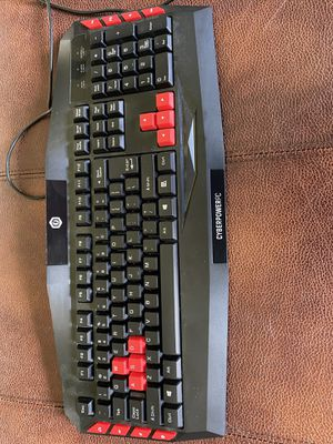 Cyber power Pc keyboard for Sale in Canton, OH