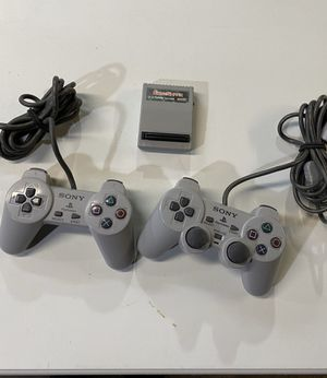Ps1 controllers and gameshark for Sale in Pawtucket, RI