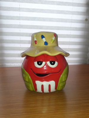 "Gone Fishing"" ""Old"" Glass M&M Candy / Cookie Jar for Sale in East Bridgewater, MA"