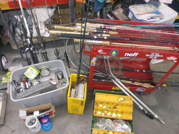 Fishing stuff random Ron's reels lures