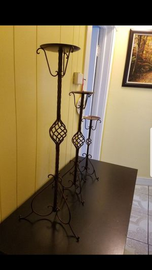 Metal candlestick holders for Sale in Fresno, CA
