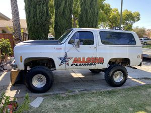 "1979 Chevy blazer 4x4, 6"" lift, 35"" cooper mud terrain, New ZZ4 crate motor. for Sale in San Jose, CA"