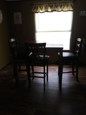 Tall kitchen table for Sale in Caddo, OK