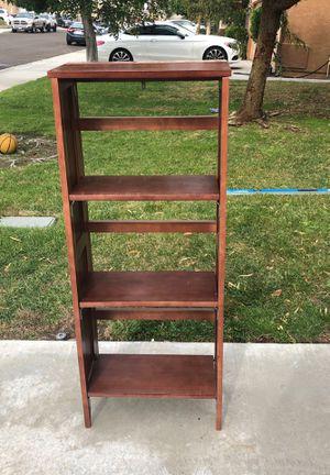 Two folding bookshelves for Sale in Fontana, CA