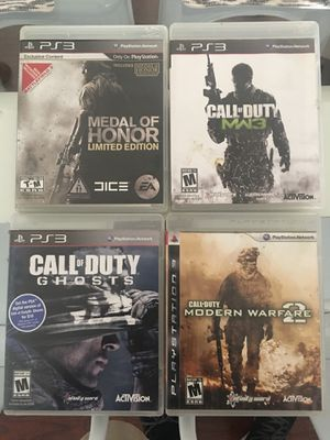 Ps3 call of duty games for Sale in Santa Monica, CA