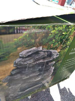 3 Tier Slate Waterfall Fountain for Sale. for Sale in Norfolk, VA