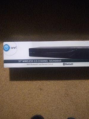 """Onn 37"""" Wireless 2 Channel Soundbar for Sale in Gorst, WA"""