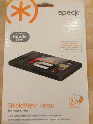 *Speck* ShieldView Screen Protector for Kindle Fire - 2 pack matte for Sale in Marietta, GA