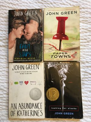 4 John Green Books for Sale in Los Angeles, CA