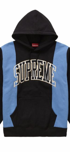 Supreme paneled arc hooded sweatshirt size L for Sale in Keller, TX