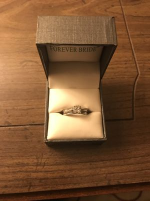 White gold diamond ring for Sale in Dubuque, IA