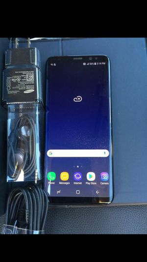 Samsung Galaxy S8, Factory Unlocked, Excellent Condition. for Sale in Springfield, VA