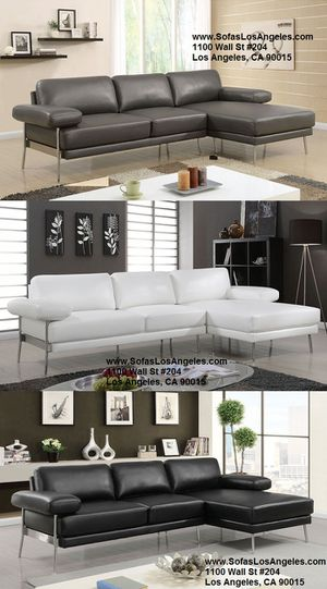 Modern leather sofas sectionals couches/No Credit Needed No Credit Check Apply Today for Sale in Downey, CA