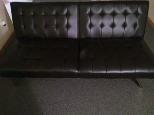 Morgan Tufted Convertible Modern Euro Futon, Multiple Finishes for Sale in Davenport, IA