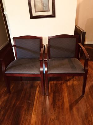 Last Set 2 chairs High Cuality chair check my order item in my list for Sale in Fresno, CA