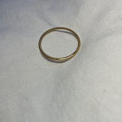Twisted Gold Band Ring - Size 9 for Sale in Gaithersburg,  MD