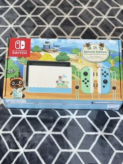 Nintendo Switch Animal Crossing Edition for Sale in National City,  CA