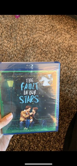 Fault in our stars for Sale in Tacoma, WA