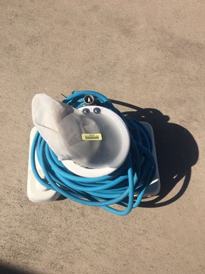 Hammer Head/power vac. For pool cleaning . Normal wear and tear wheels are all there Marine battery should work have not used in seven months . for Sale in Tarpon Springs, FL