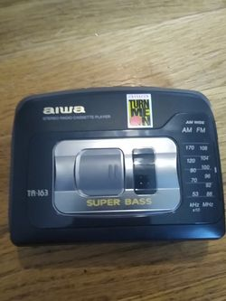 Aiwa Stereo Radio Cassette Player Super Bass Ta-163 for Sale in Portland,  OR