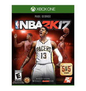 nba 2k17 xbox one for Sale in San Diego, CA