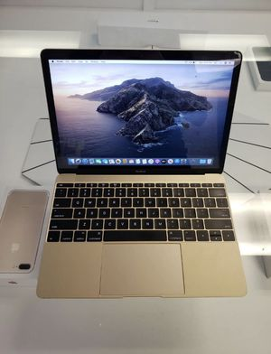 Apple MacBook MK4M2LL/A 12-Inch Retina Laptop Core M-5Y31 256GB SSD 8GB RAM for Sale in CA, US