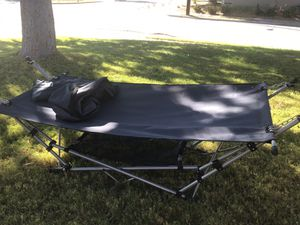 Portable Hammock with Stand, Pillow and Mesh Storage Net for Sale in El Cajon, CA