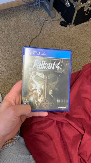 Fallout 4 PS4 for Sale in Rochester, MN