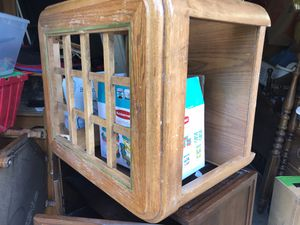 End table have glass for Sale in Des Moines, WA