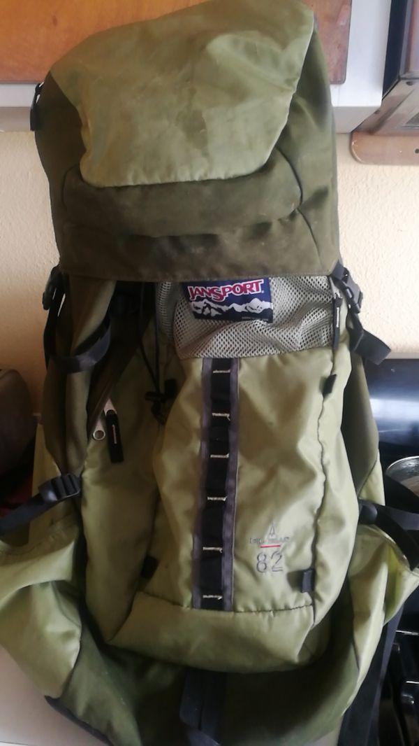 Outdoor jansport backpack 70 l