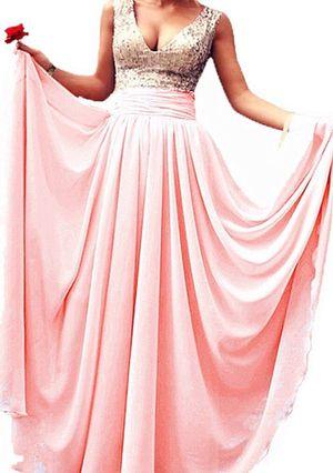 V neck prom dress for Sale in Harrington, DE