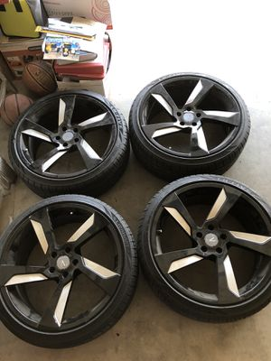 Rims with BRAND NEW TIRES for Sale in Fresno, CA