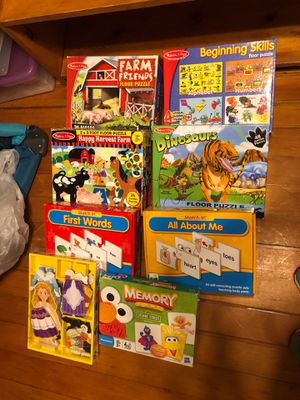Puzzles and games for Sale in Lowell, MA