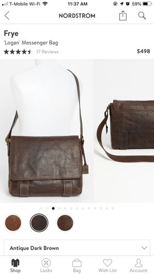 Frye Logan Messenger bag (Black) for Sale in Tustin, CA