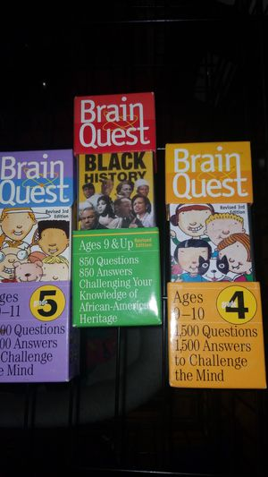 Brain quest games for kids for Sale in Philadelphia, PA