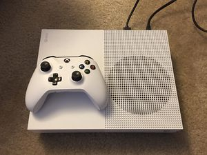 Microsoft Xbox One S 1TB All Digital Edition (Disc-free Gaming), White, for Sale in Fort Washington, MD