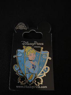 Disney Princess Cinderella Crest Pin for Sale in Irwindale,  CA