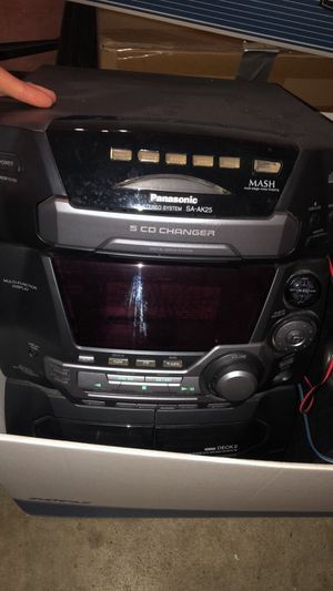 Panasonic stereo system for Sale in San Bruno, CA