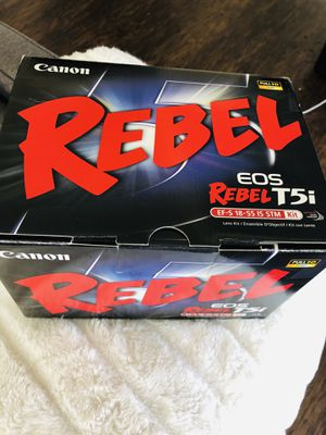Canon t5i Rebel w/ 2 Lens for Sale in Silver Spring, MD