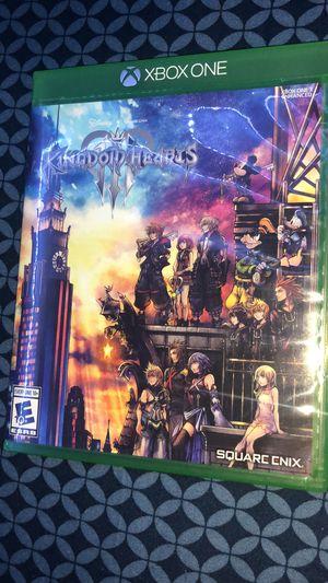 Xbox One Kingdom Hearts 3 for Sale in Stockton, CA
