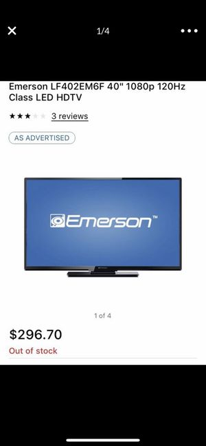 Emerson 40 inch TV for Sale in Long Beach, CA