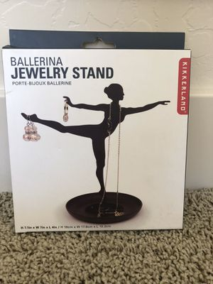 Kikkerland Ballerina Jewelry Stand for Sale in Salt Lake City, UT