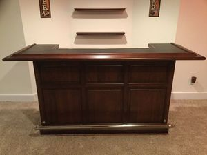 """84"""" American Heritage Catania Chestnut Bar for Sale in Bethel, CT"""