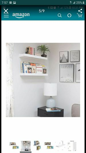 Floating shelves White for Sale in Ontario, CA