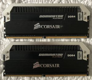 32GB DDR4 RAM Dominator Platinum 3000MHz for Sale in Herndon, VA